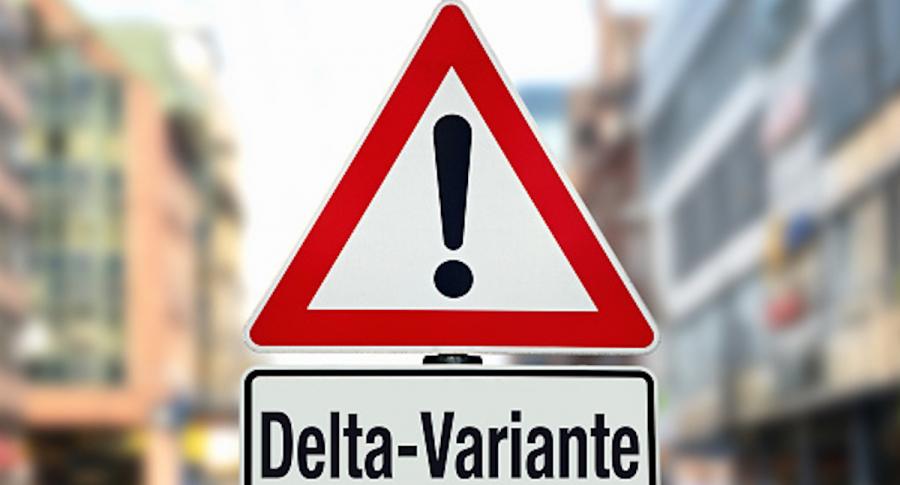 Variante delta del coronavirus es tan contagiosa como la varicela, incluso entre vacunados