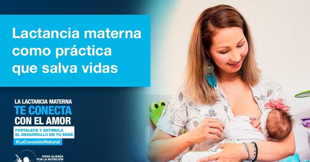 Amor que salva vidas: la leche materna es mucho más que un alimento
