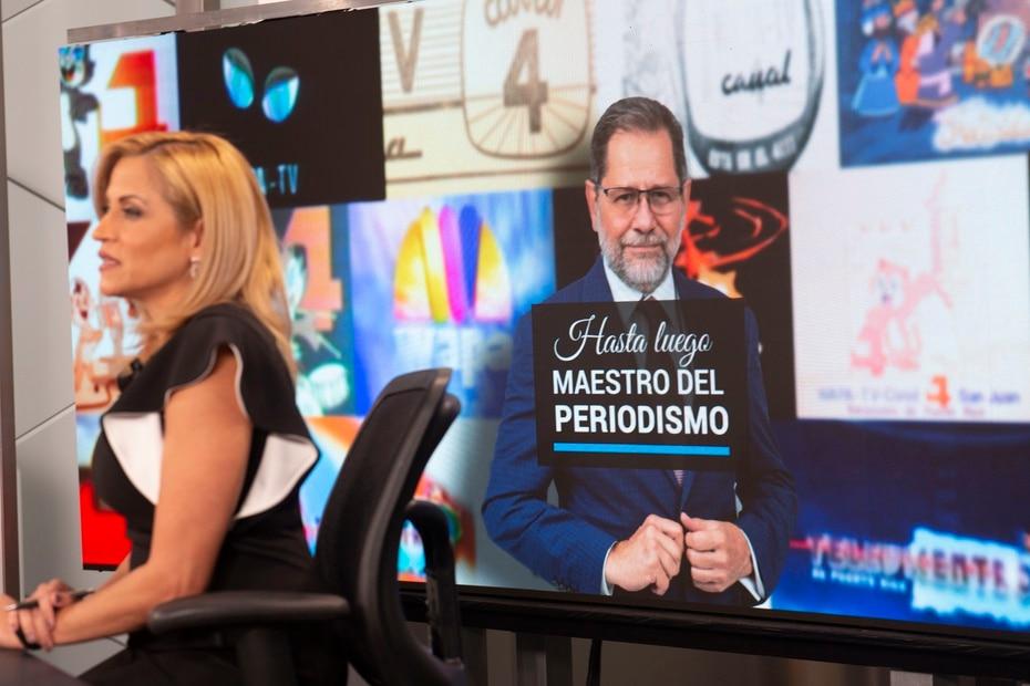 """López explicó que Arroyo había estado ausente en los últimos días por una licencia de salud. El reportero se supone que se integraría al espacio de noticias el pasado lunes. Al no hacerlo se comunicó ayer con Arroyo y le preocupó que el reportero """"no se escuchaba bien""""."""