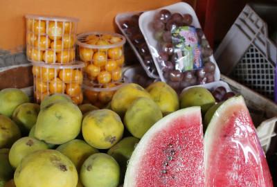 ¡Que no le falten las frutas!
