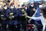 Protestan en Italia por exigencia de pase COVID